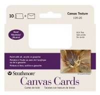 Strathmore Canvas Cards 3.5x4.875 10pk