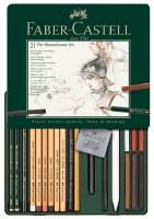 Faber-Castell 21 Pitt Monochrome Set