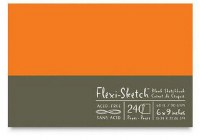 Flexi Sketch Book 6X9 Mandarn 240 Sheets