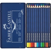 Faber-Castell ART GRIP AQUARELLE 12 Tin Set