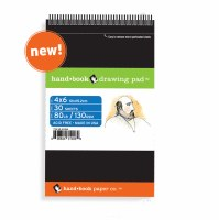 Global Hand Book Drawing Pad 6x8