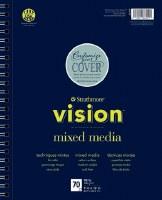 "Strathmore Vision Mixed Media 7"" x 10"""