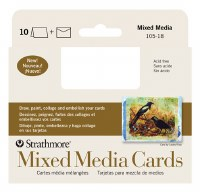 Strathmore Mixed Media Cards 3.5x4.875 10pk