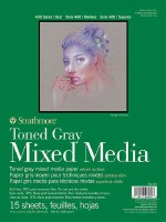 Strathmore 400 Series Toned Mixed Media Pad