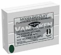 Van Aken Plastalina Modeling Clay 1lb. Dark Green