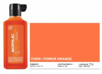 Montnan Acrylic Paint Marker Refill 180ml Power Orange