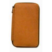 Global Art Brown Leather Pencil Case 48ct.