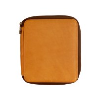 Global Art Brown Leather Pencil Case 72ct.
