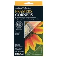 """Lineco Archival Polyester Framers Corners 1 3/8"""""""