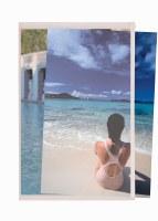 Itoya PolyZip Art & Photo Envelope 5x7 AZ-5-7
