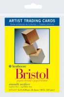 Artist Trading Cards Bristol Smooth 2.5x3.5 20 sheets