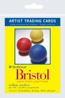 Artist Trading Cards Bristol Vellum 2.5x3.5 20 sheets