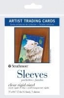 Artist Trading Cards Clear Rigid Vinyl Sleeves 3x4.5 5pk