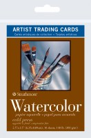 Artist Trading Cards Watercolor Paper 140lb Cold Press 2.5x3.5 10 sheets