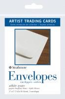 Artist Trading Cards White Envelopes 3x4 5pk