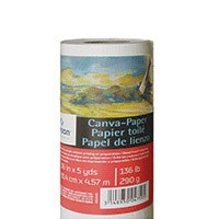 "Canson Canva-Paper Roll 136lb 48""x5yds"