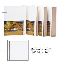 Ampersand™ Encausticbord™ 1/4in Flat 12x12