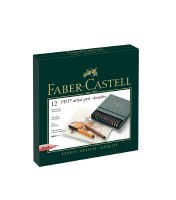 Faber-Castell Pitt Artist Pens Set of 12 Brush Tips