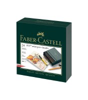 Faber-Castell Pitt Artist Pens Set of 24 Brush Tips
