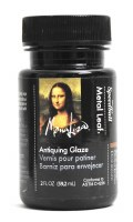 Mona Lisa Metal Leaf Antiquing Glaze-Umber 2 oz.