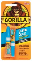 Gorilla Super Glue 3g. 2 pack