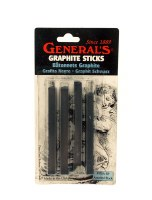 General's Assorted Black Graphite Sticks 4pk