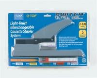 Itoya Light-Touch Interchangeable Cassette Stapler System ST-5GY