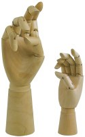 Art Alternatives Left Hand Manikin 12""
