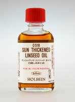 Holbein Artists Oil Medium Sun Thickened Linseed Oil 55ml