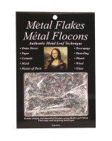 Mona Lisa Silver Metal Leaf Flakes