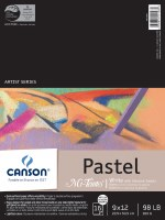 Canson Mi-Teintes Paper Pad White with Glassine 9x12 16 sheets