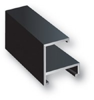 Nielsen Bainbridge Flat Top Matte Black Metal Frame Kit 17in