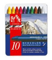 Caran D'Ache NEOCOLOR II Watersoluble Crayon Set of 10