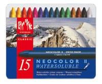 Caran D'Ache NEOCOLOR II Watersoluble Crayon Set of 15