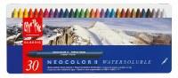 Caran D'Ache NEOCOLOR II Watersoluble Crayon Set of 30