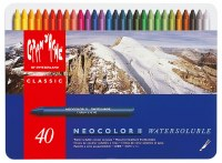 Caran D'Ache NEOCOLOR II Watersoluble Crayon Set of 40