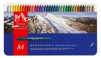 Caran D'Ache NEOCOLOR II Watersoluble Crayon Set of 84