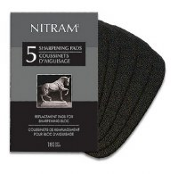 Nitram Sharpener Replacement Pads 5 sheets