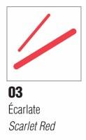 Pebeo Porcelaine 150 Marker Scarlet