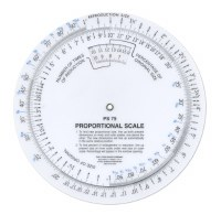 "C-Thru 6"" Proportional Scale"