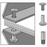 Lineco Screw Posts 1-3/4in, 6pk