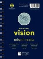 "Strathmore Vision Mixed Media 11"" x 14"""