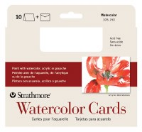 Strathmore Watercolor Cards 5x7 10pk
