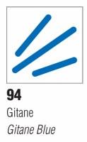 Pebeo Vitrea 160 Glass Marker - Frosted Gitane Blue