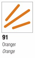Pebeo Vitrea 160 Glass Marker - Frosted Orange