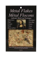 Mona Lisa Multi Colored Metal Leaf Flakes
