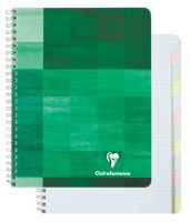 Clairefontaine Multi-Subject Graph Paper Wirebound Notebook 6.75x8.75