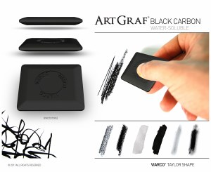 ArtGraf Water-Soluble Carbon Disk