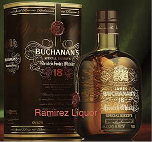 Buchanan's 18 Year 750ml