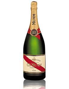 G.H. Mumm Champagne Brut Set